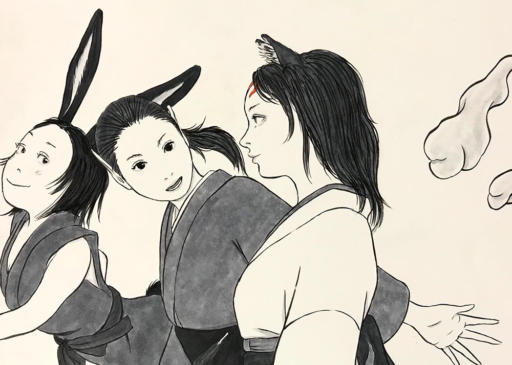 女子会で芝居見物 JOSHIKAI