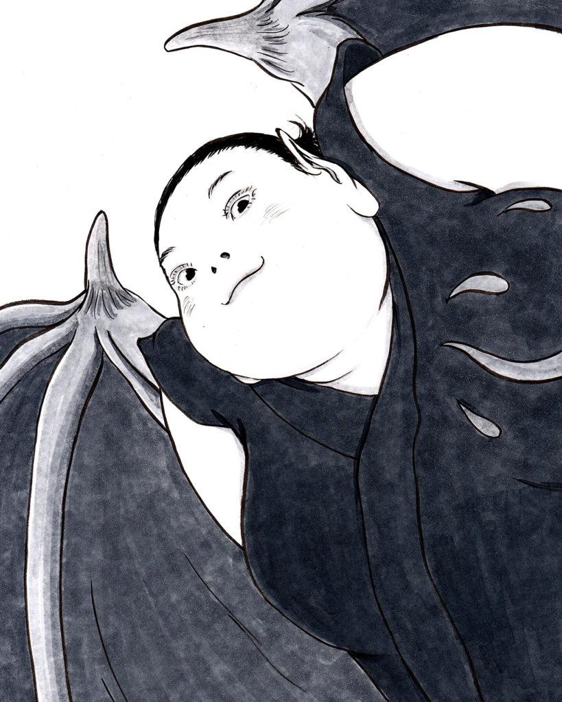 こころの蝙蝠女 KOMORI