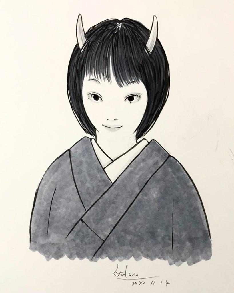 速描きの落描き RAKUGAKI
