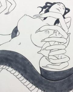 エロガランヘビ系妖怪 EROGALAN