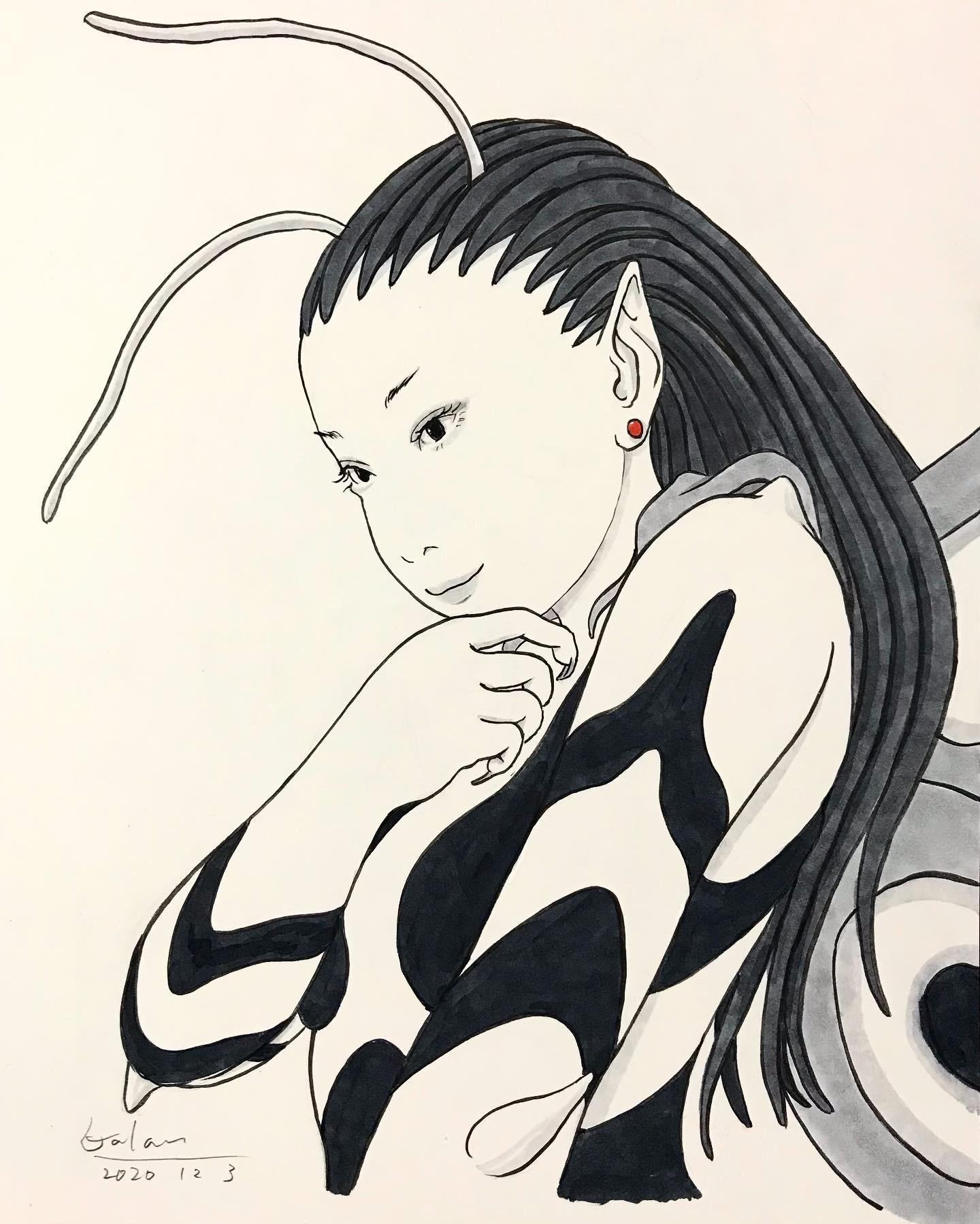 「塗り絵」の妖精 NURIE