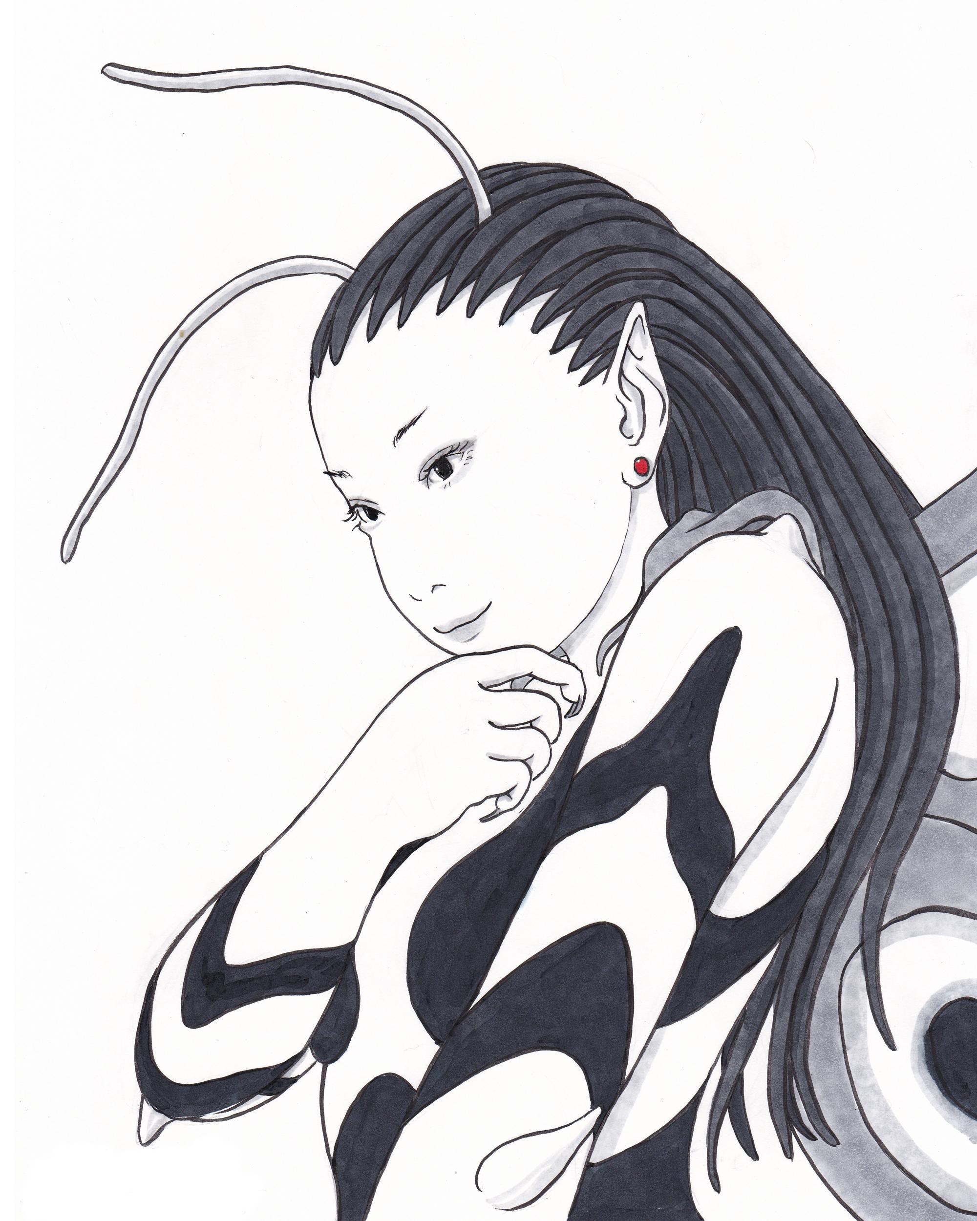「塗り絵」の妖精2