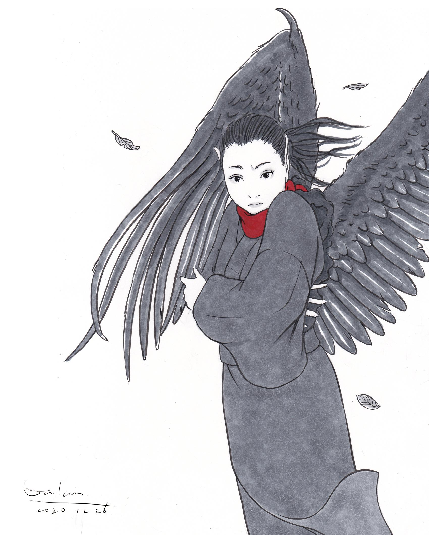 寒空の黒葉 KARASU