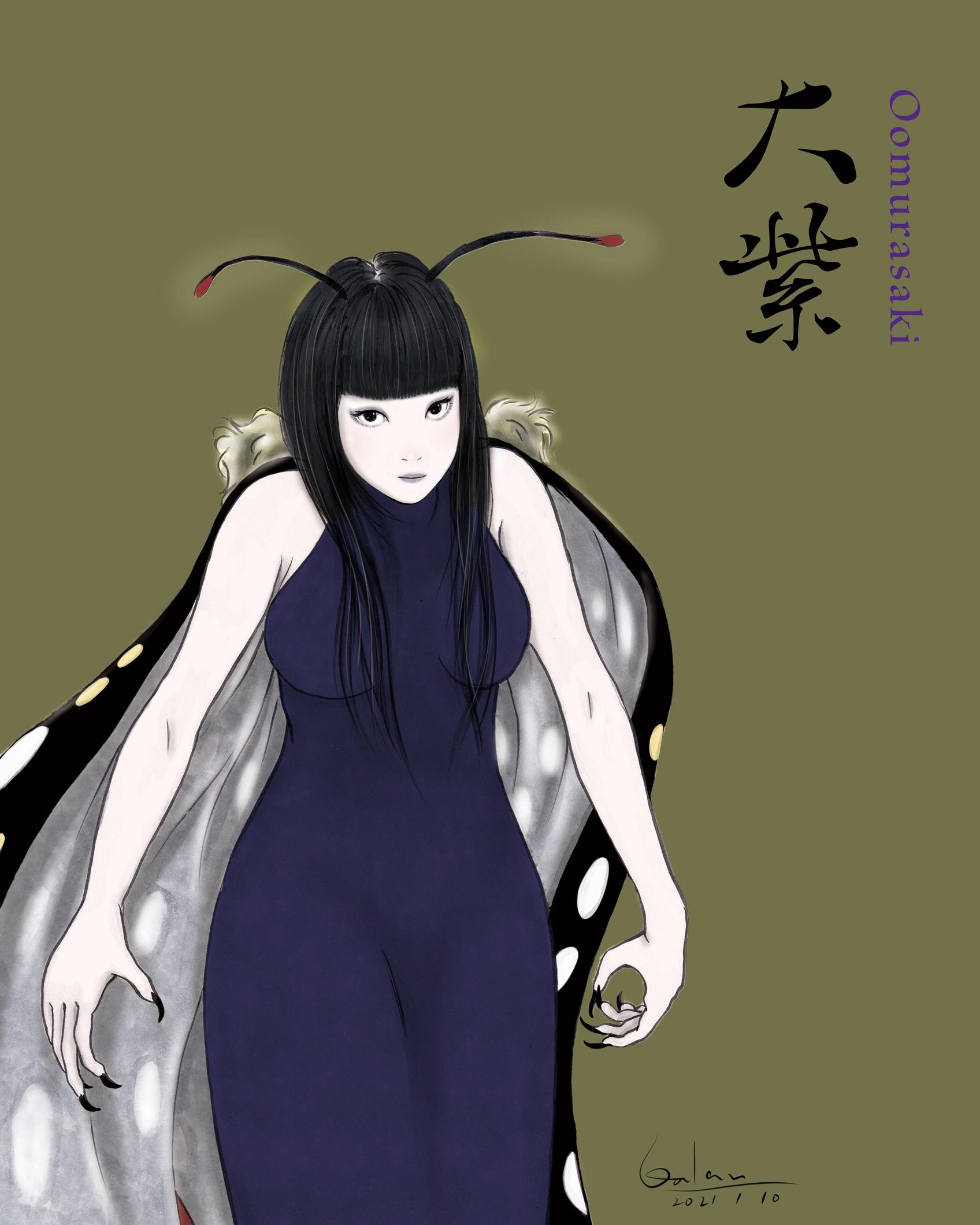 オオムラサキさま(color) OMURASAKI