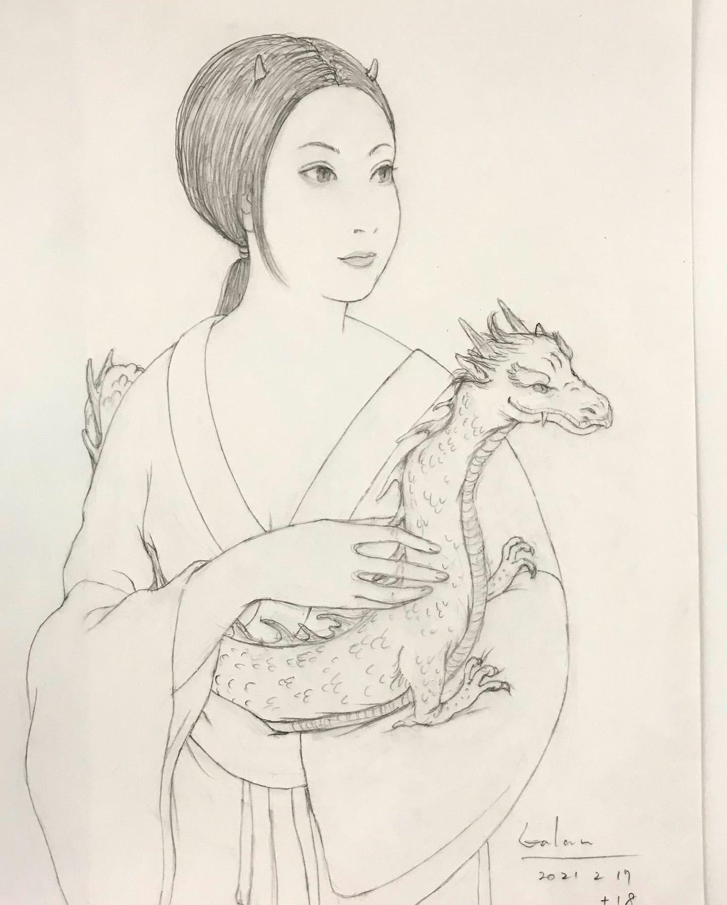 白龍を抱く鬼夫人2 RYU&ONI