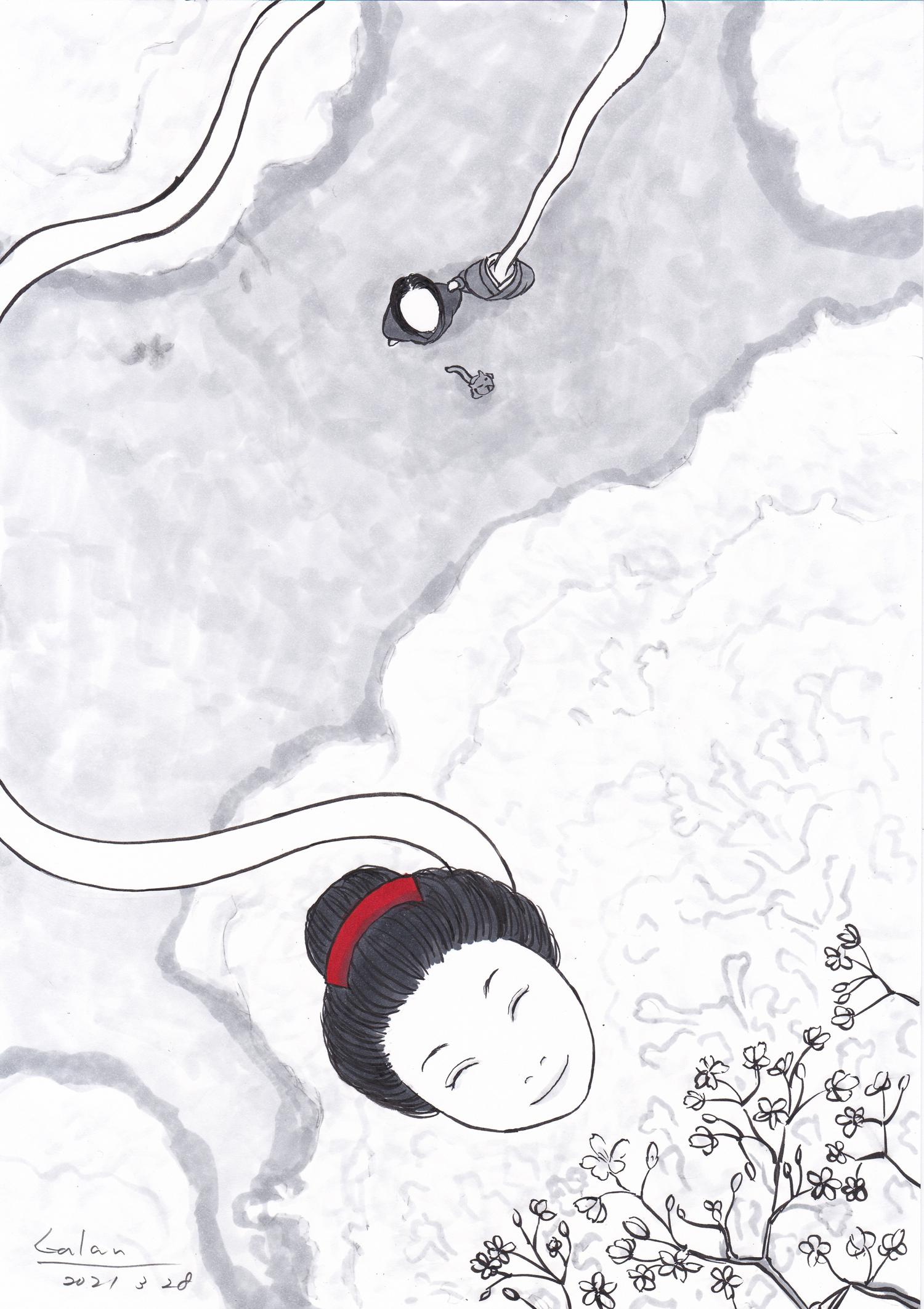 キャラクター紹介 お菊とお鶴 OTSURU&OKIKU