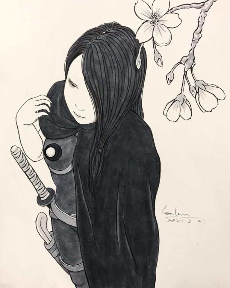 キャラクター紹介 怖いお姉さん KOWAI-ONESAN