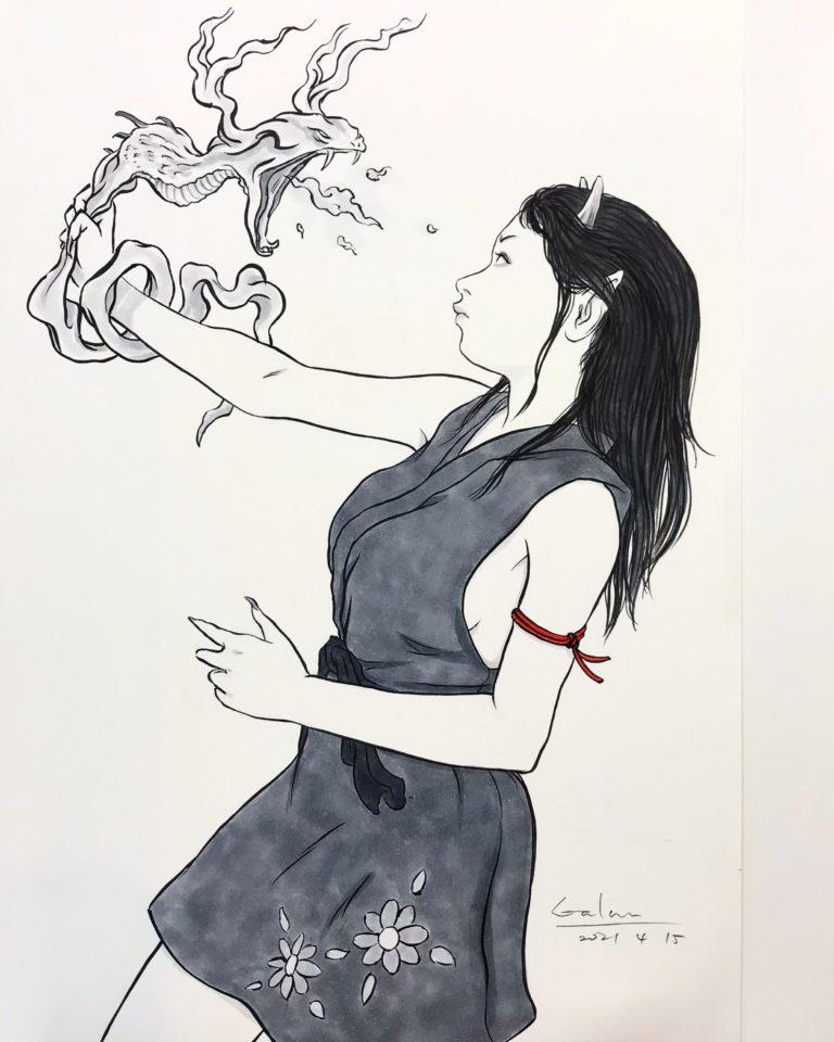 火蛇と若鬼 ONI