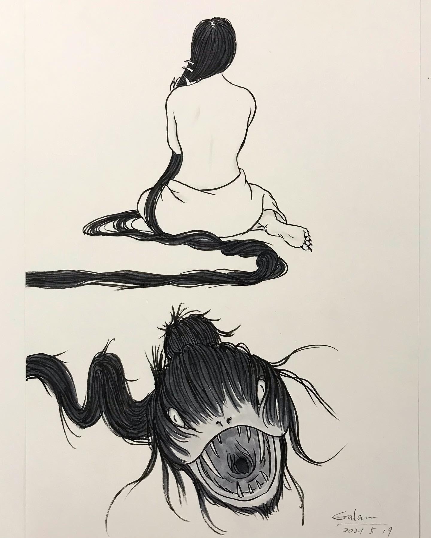 シン・髪蛇 KAMI-HEBI