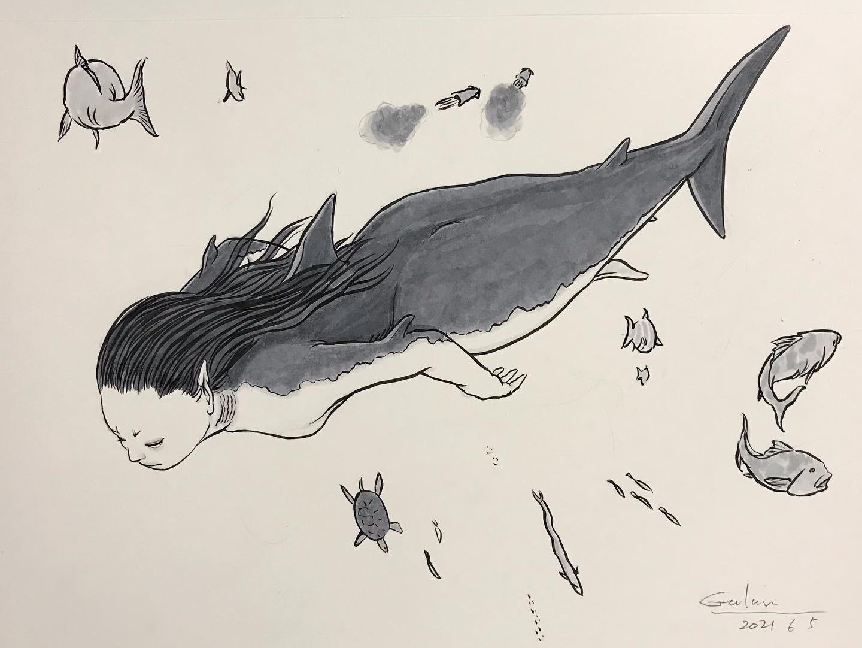サメ系人魚 NINGYO