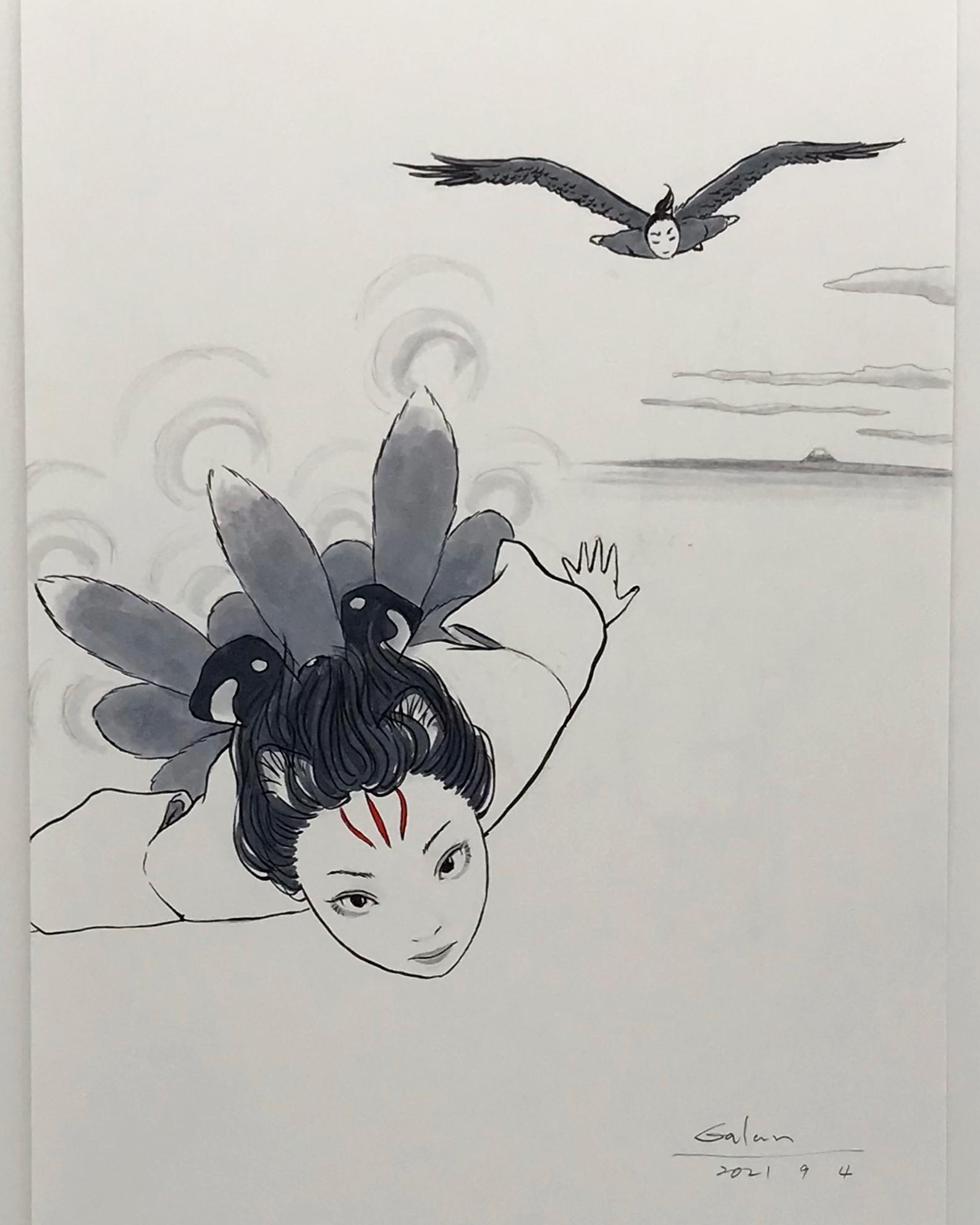 妖怪飛行競技選手権大会! KITSUNE&KARASU